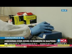 Concerns over COVID 19 numbers in Gauteng