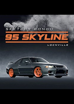 Sketchy Bongo - 95 Skyline (ft. Locnville)