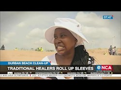Traditional healers roll up sleeves